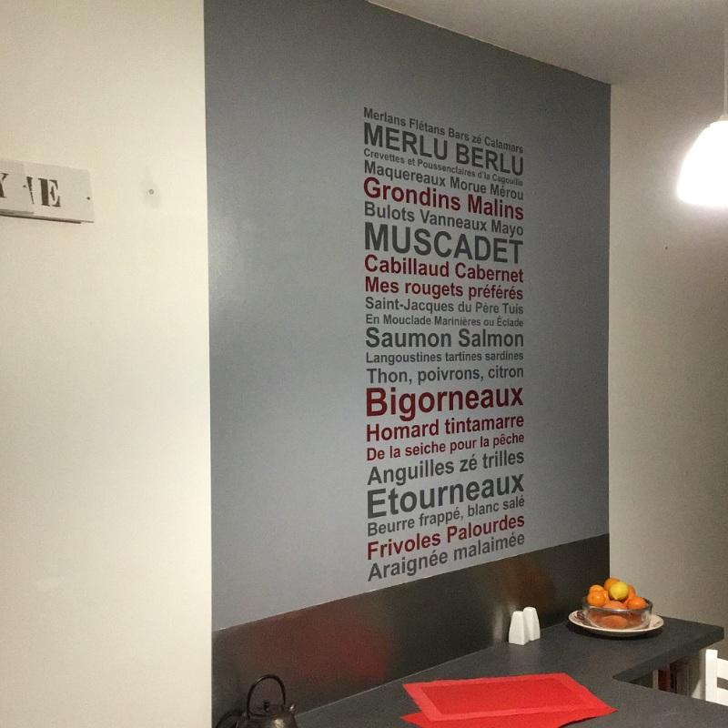 stickers sur mesure de textes adhésifs pour la décoration murale