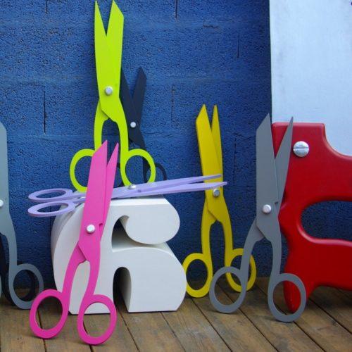 Lettres géantes en 3D pour meubles ou sièges
