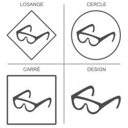 Sticker signalétique sécurité protection des yeux obligatoire