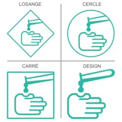 Sticker ou panneau Signalétique Produits dangereux