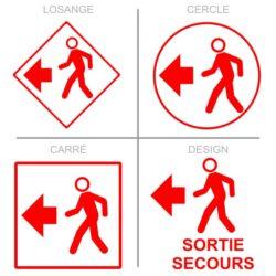 Sticker issue de secours pour la sécurité