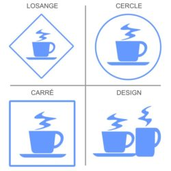 Signalétique boissons chaudes