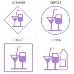 Signalétique boissons fraiches