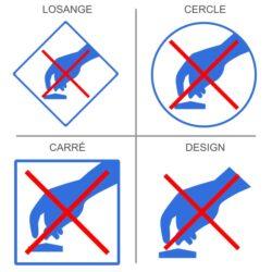 Sticker ramassage interdit