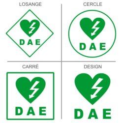 Sticker défibrillateur