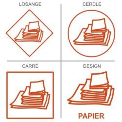 Sticker recyclage papiers