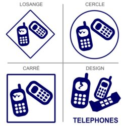 Sticker recyclage téléphones portables
