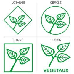 Sticker recyclage des végétaux