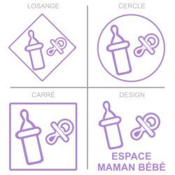 Sticker service maman bébé