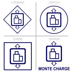 Sticker monte charge