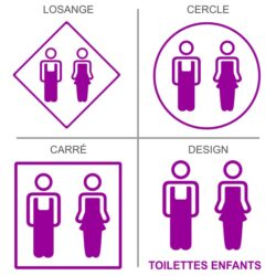 Sticker toilettes enfants